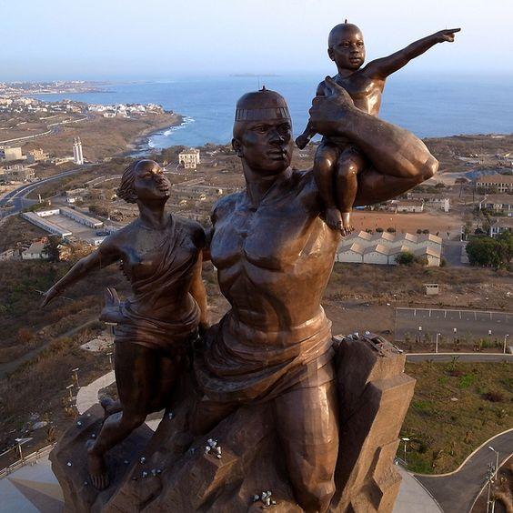 Monument de la Renaissance Africaine, 2010, Dakar