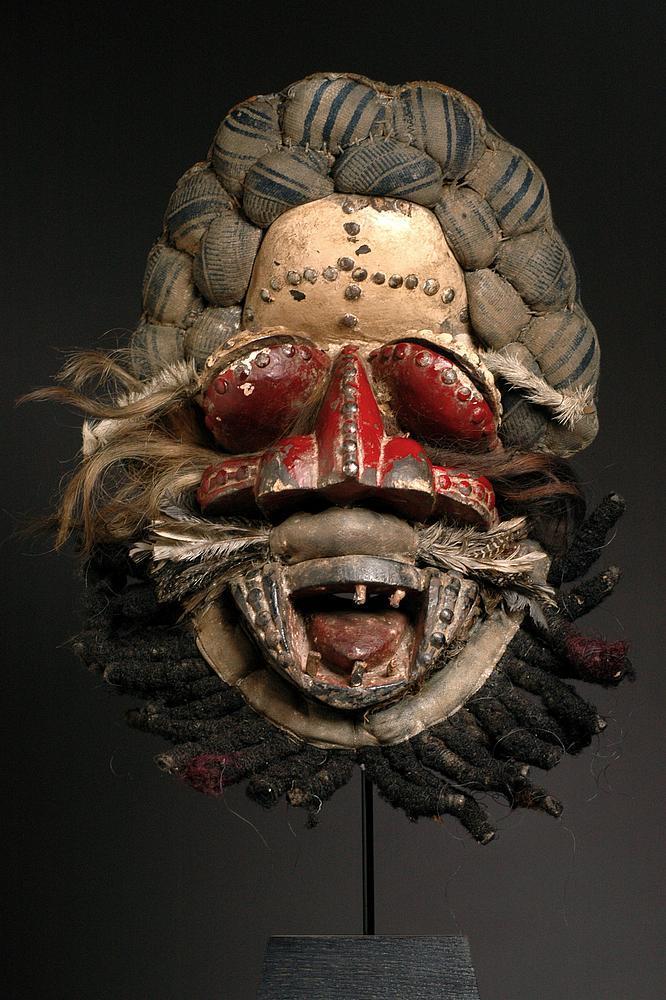 Masque guerrier